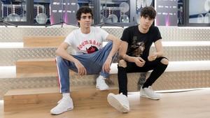 Javier Ambrossi y Javier Calvo, en la academia de OT