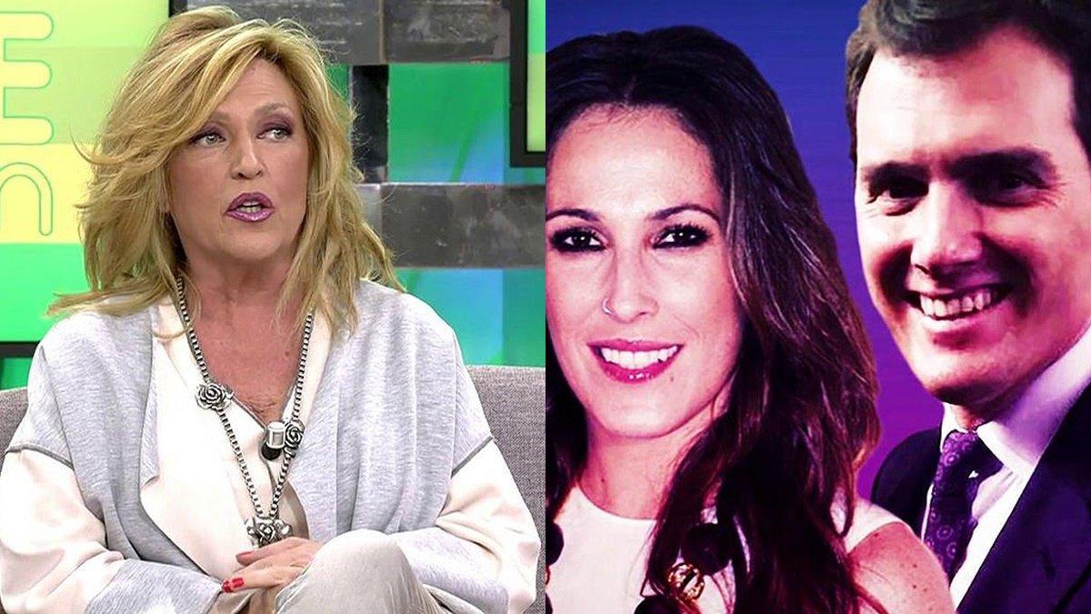 """Lydia Lozano da detalles sobre la relación entre Malú y Albert Rivera: """"Su novia los pilló"""""""