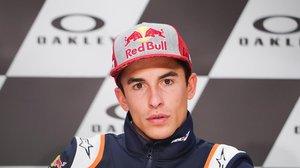 Marc Márquez (Honda), en la conferencia de prensa del Gran Premio de Italia.