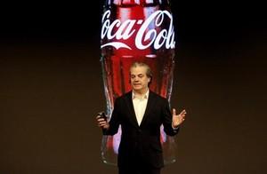 Marcos de Quinto, en una presentación de Coca Cola.