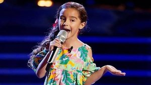 Marian Lorette en 'La voz kids' (México).