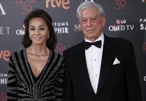 Mario Vargas Llosa i Isabel Preysler.