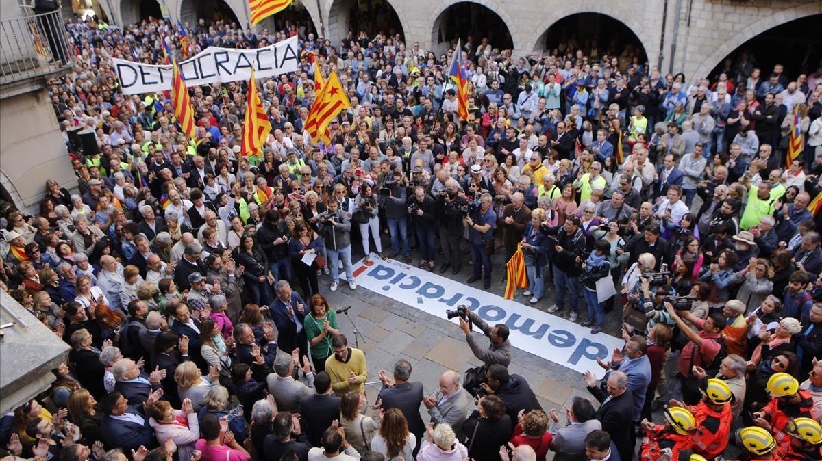 En uno de cada tres municipios de Girona solo se podrá votar a candidaturas independentistas