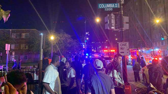 Al menos un muerto y cinco heridos en un tiroteo en Washington.