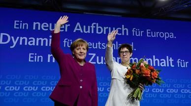 La CDU aprueba el Gobierno de gran coalición por una aplastante mayoría