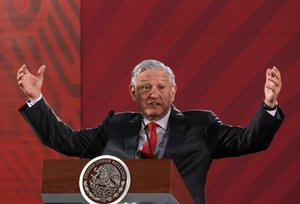 El presidente de México,Andrés Manuel López Obrador.