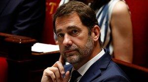 El ministro del Interior, Christophe Castaner, en la Asamblea Nacional.