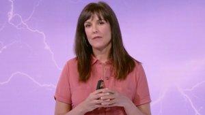 Mónica López, presentadora de El tiempo de La 1 de TVE.