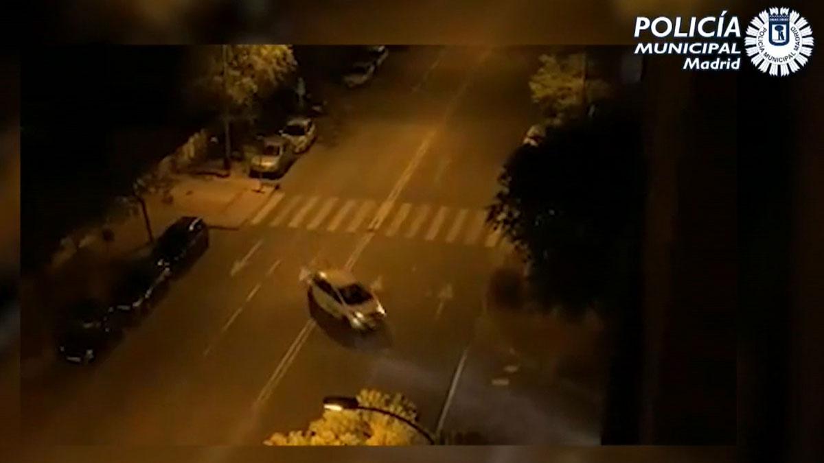 Ocho detenidos por robar coches de alquiler para carreras ilegales en Madrid.