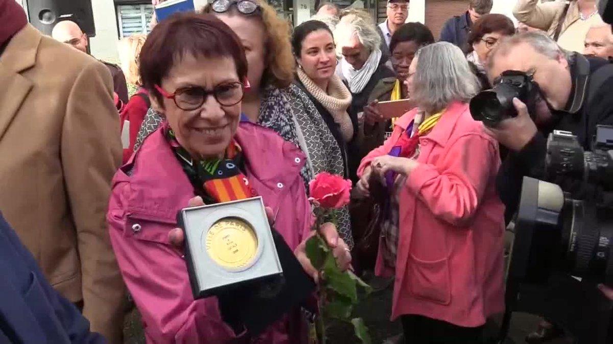 París homenajea la memoria de la resistente Neus Català.