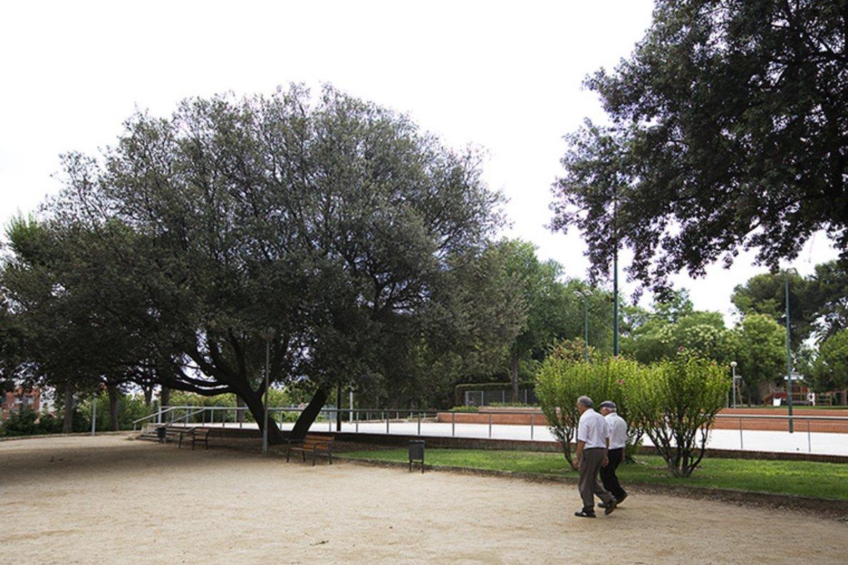 Parque de Can Vidalet, en Esplugues