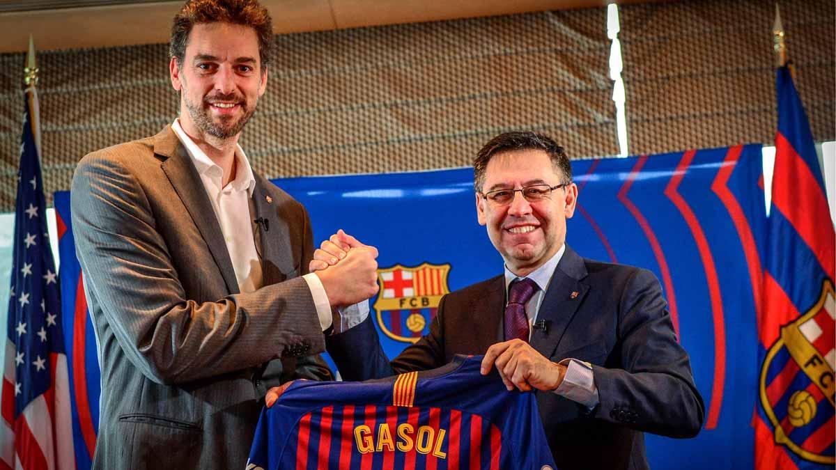 Pau Gasol se une al Barça como asesor y embajador en Estados Unidos.