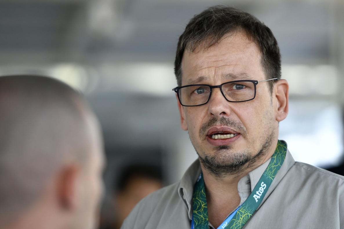 Hajo Seppelt, durante los Juegos de Río.