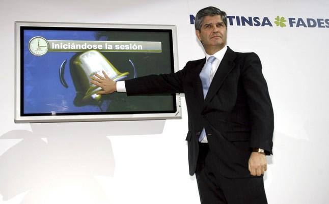 El presidente de la inmobiliaria Martinsa Fadesa, Fernando Martín.