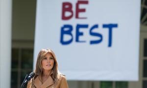 La primera dama de EEUU, Melania Trump.