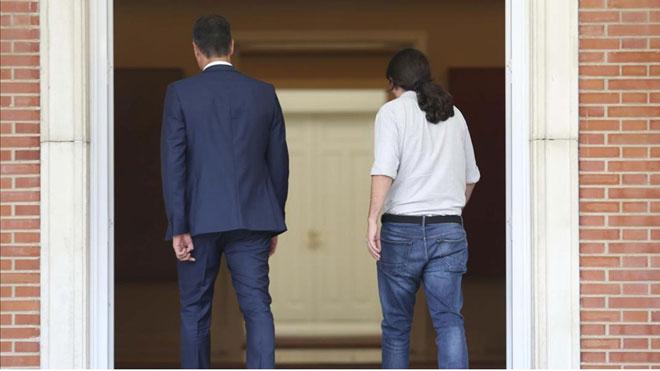 PSOE y Podemos, sin acuerdo, horas antes de la votación definitiva.