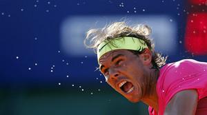 Rafael Nadal, durante un partido del reciente Abierto de Argentina, en Buenos Aires.