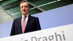 La canonización de Mario Draghi