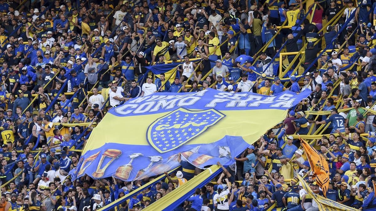 Boca Juniors, actual bicampeón de la Superliga argentina.