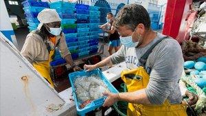 El pescado azul es una rica fuente de vitamina D.