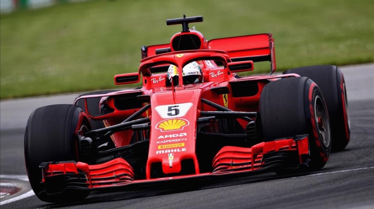 Sebastian Vettel (Ferrari), vencedor del GP de Canada.