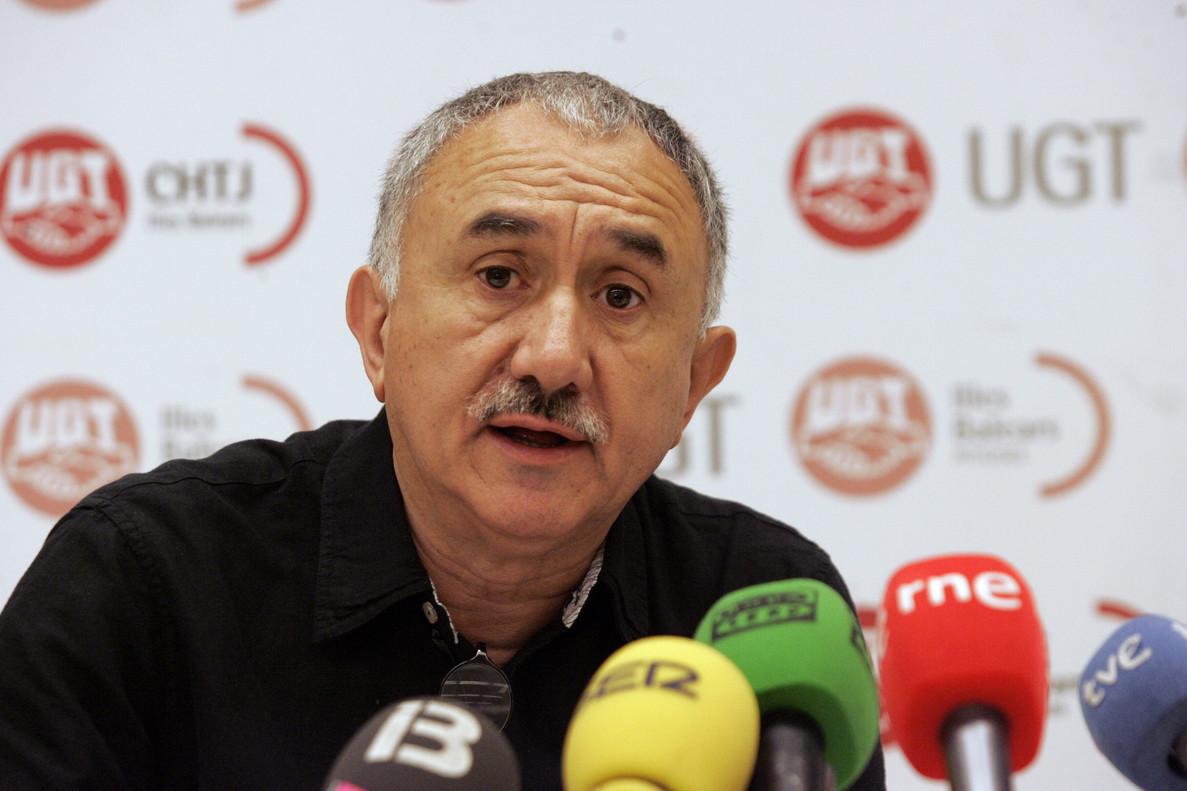 El secretario general de UGT, Josep Maria Álvarez.
