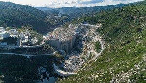 Complejo hidroeléctrico Tâmega que Iberdrola construye en Portugal.