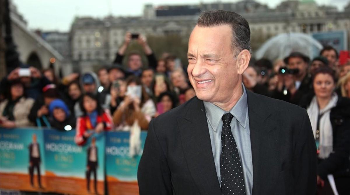 """Tom Hanks: """"Aposté 100 libras por el Leicester"""""""