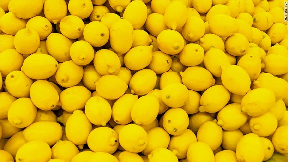 Una imagen de limones difundida en uno de los tuits en solidaridad con los presos por el 'procés'.