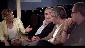 Cristina Pardo charla en Malas compañías con algunos políticos catalanes.