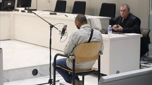 Nabil M., M., el exmilitar condenado por enaltecimiento de terrorismo.