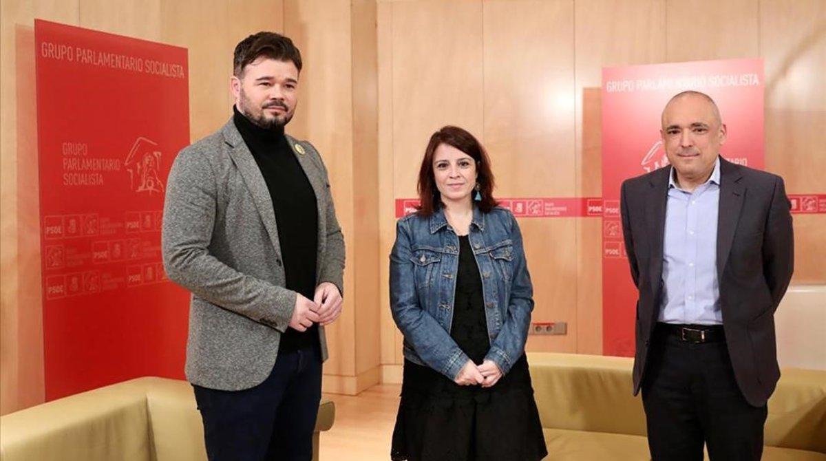 El PSOE es prepara per accelerar el pacte amb ERC
