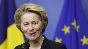La presidenta de la Comisión Europea,Ursula Von der Leyen.