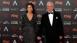 Isabel Presley y Mario Vargas Llosa.