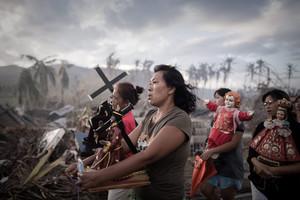 Tifón en Filipinas: AFP, primera agencia en seguir los pasos de Haiyan.