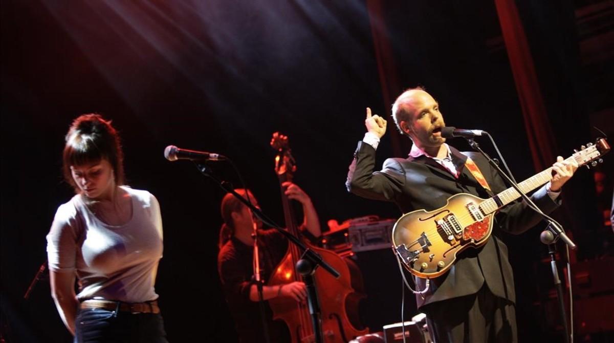 Bonnie Prince Billy, durante un concierto en la Aliança delo Poblenou.