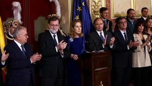 Rajoy rebutja reformar la Constitució per incloure l'opció del referèndum