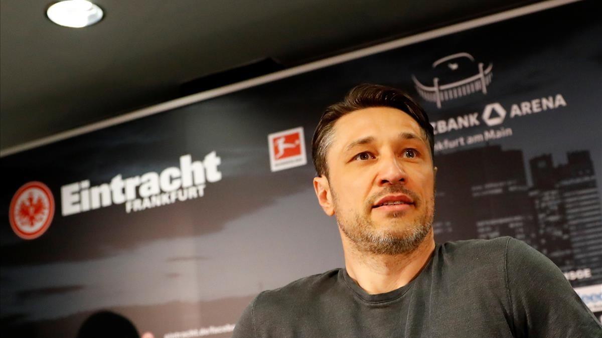 Nico Kovac confirma que ficha por el Bayern.