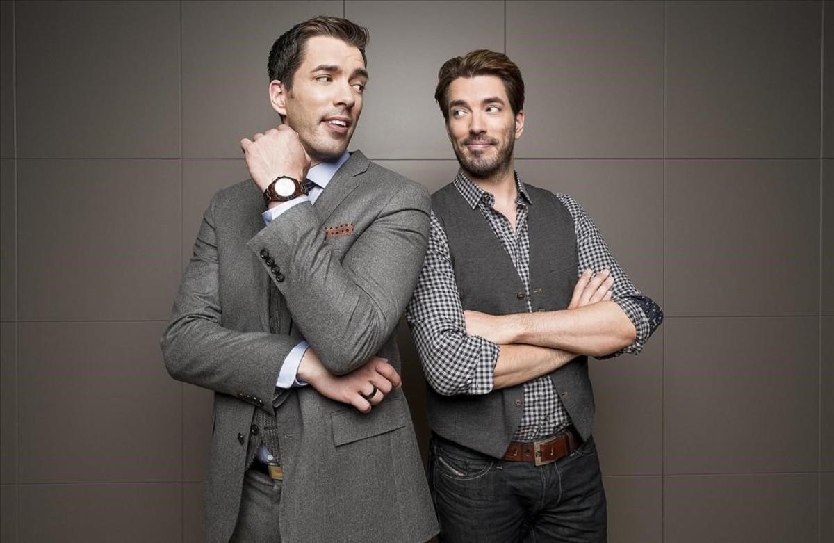 Drew y Jonathan Scott: ricos, famosos y... cuarentones
