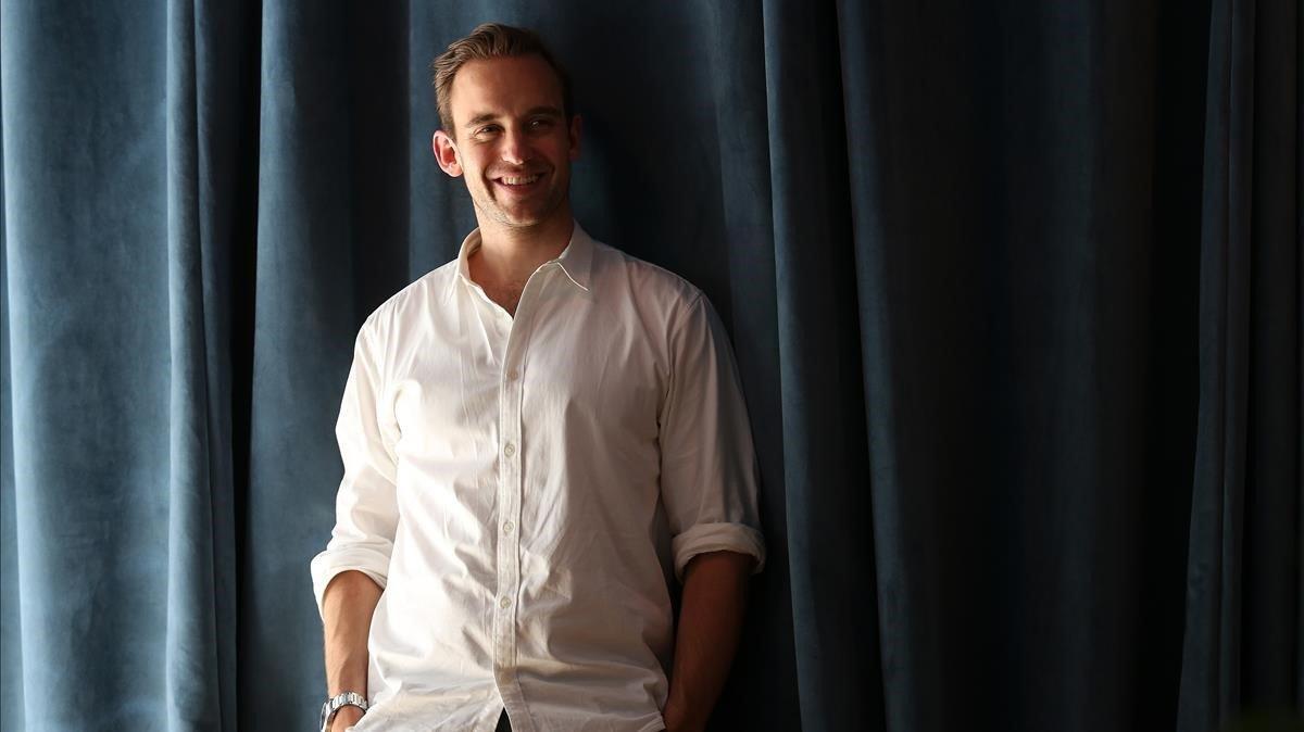 El escritor suizo Joël Dicker, durante una visita a Madrid en el 2018.