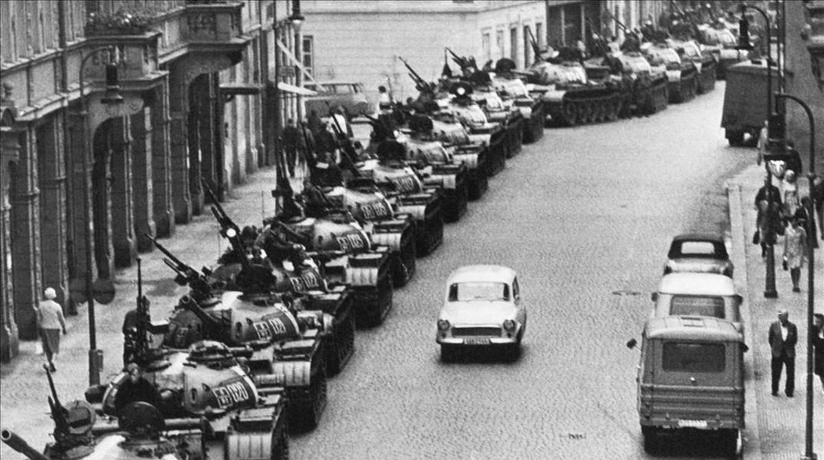 Primavera de Praga: la disidencia aplastada
