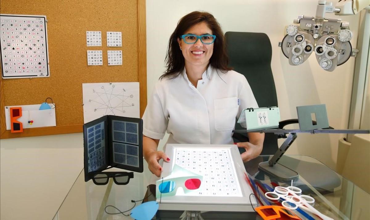 Marta Bordès, en su consulta.