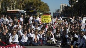 Els metges de la concertada catalana tornaran a la vaga la setmana del 18 al 22 de febrer