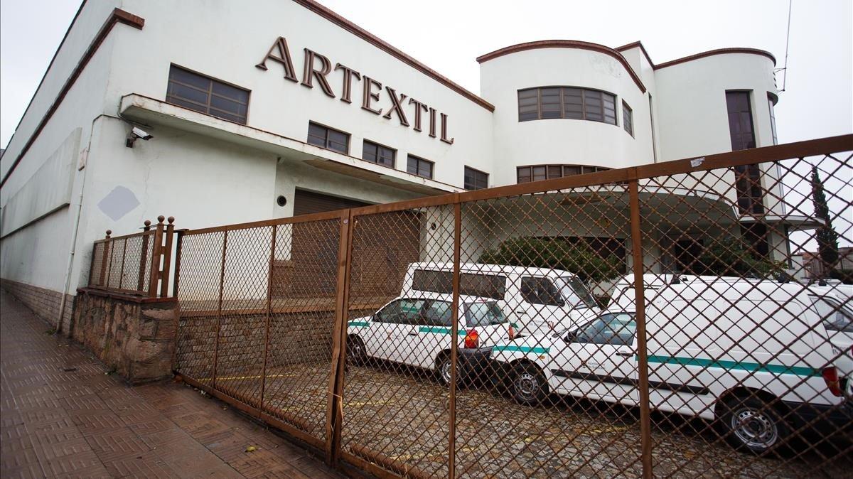 Sede de la empresa Artèxtil, en Sabadell.