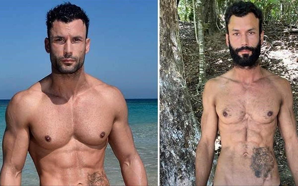 El antes y el después de Jorge Pérez.