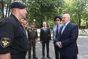 El president de Bielorússia admet haver contret la Covid-19