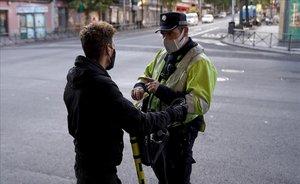La Policia Municipal de Madrid ha posat 13.000 sancions per no portar mascareta