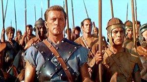 Kirk Douglas, en 'Espartaco'.
