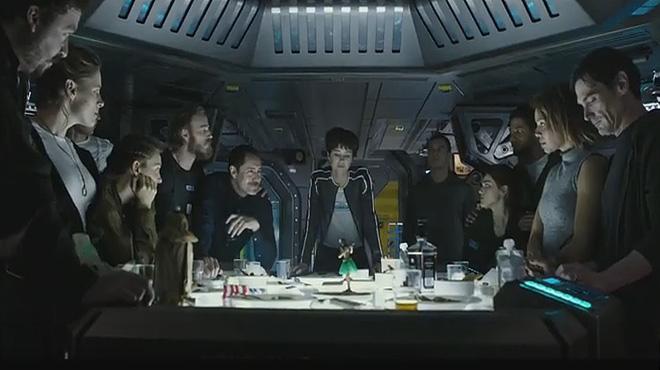 Alien: Covenant VoSE Prólogo, titulado La última cena, de la película de Ridley Scott que se estrenará el 12 de mayo del 2017