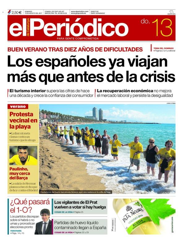 portada-elperiodico-13-08-2017